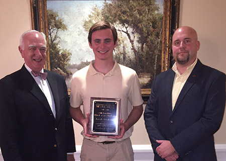 Jacob Bookout - Outstanding First Year Student